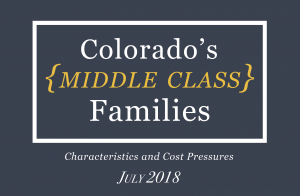 Colorado Middle Class Families