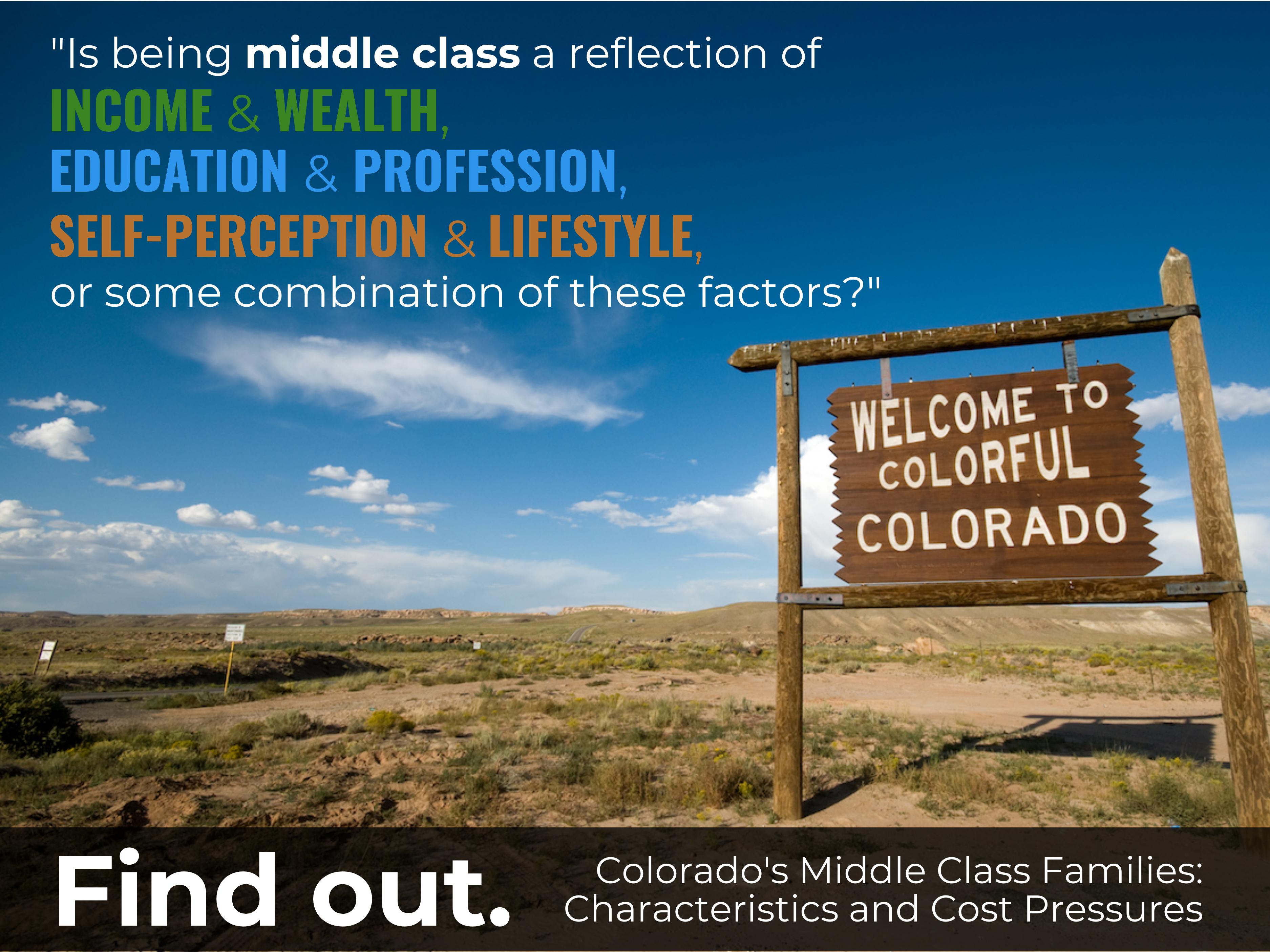 Colorado middle class families