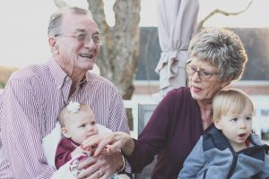 aging adults & grandchildren