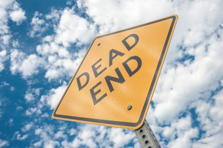 Fix Our Damn Roads is a dead end