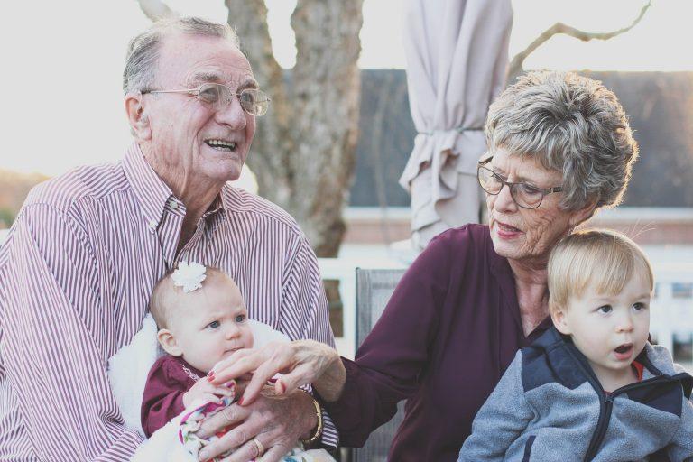 aging adults & grandchildren