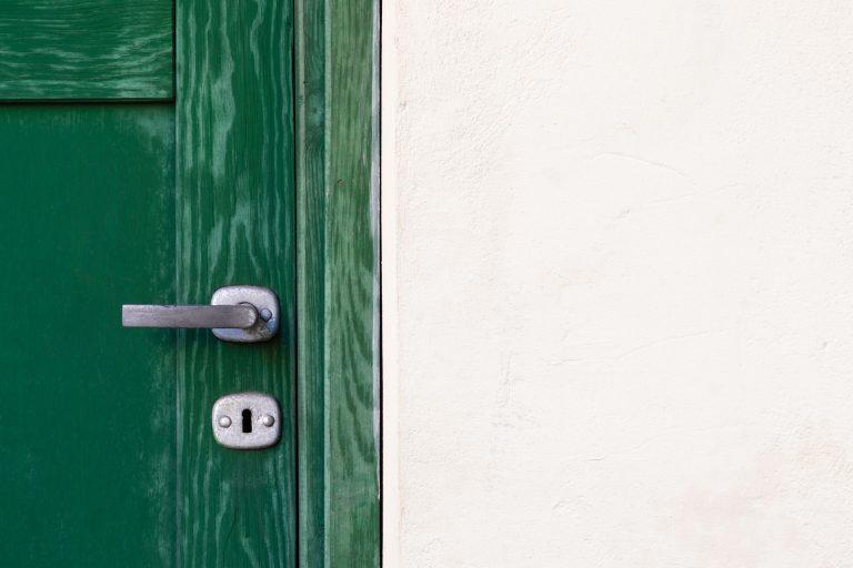 Colorado's No Wrong Door System (green door with silver handle)